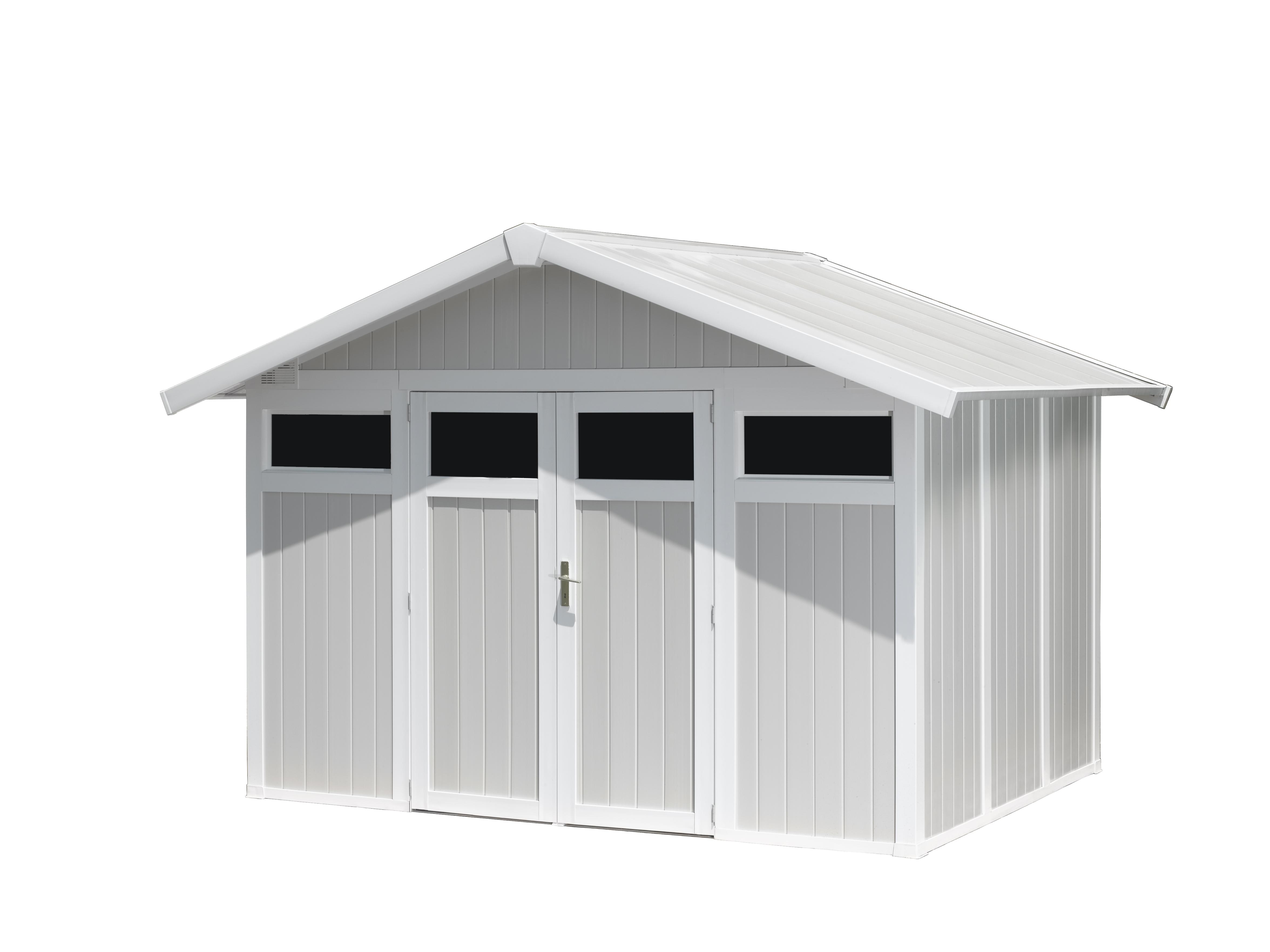 Abri De Jardin Composite utility garden shed 7,5 m² | grosfillex