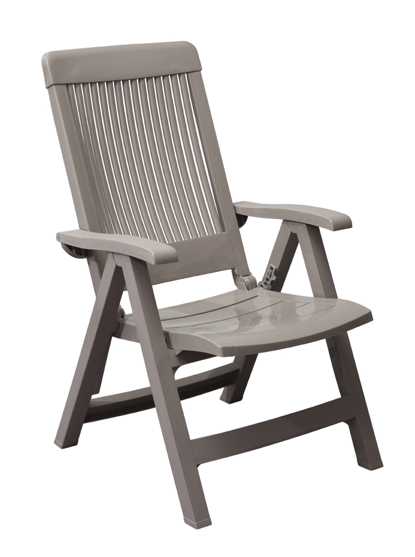 Fidji Garden Easy Chair With Adjustable Backrest Grosfillex