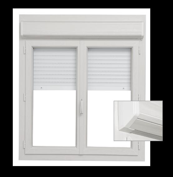 Fenêtre Porte Fenêtre Pvc Alta Décor Avec Coffre Volet Intérieur