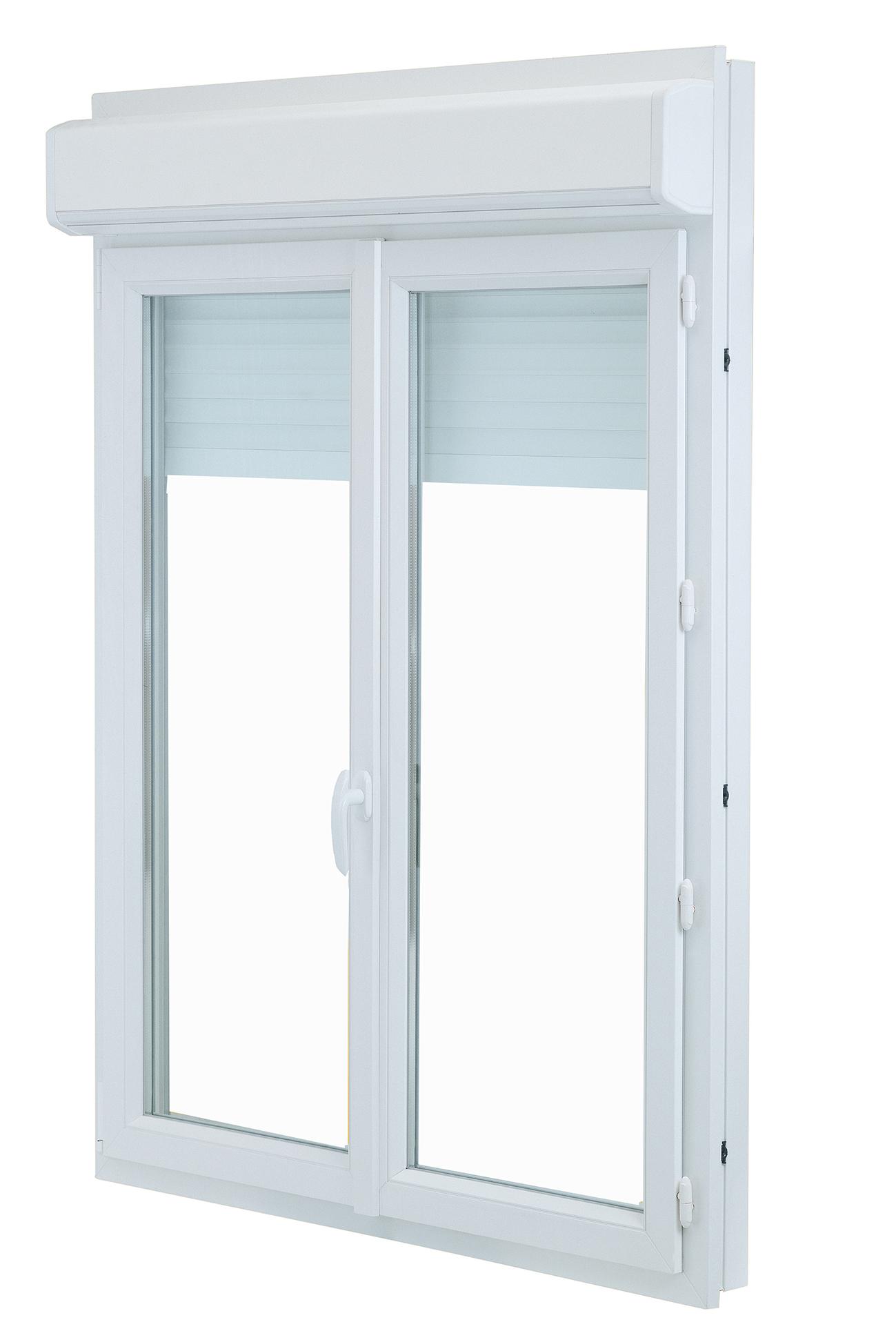 fen tre porte fen tre pvc clartherm avec coffre volet. Black Bedroom Furniture Sets. Home Design Ideas