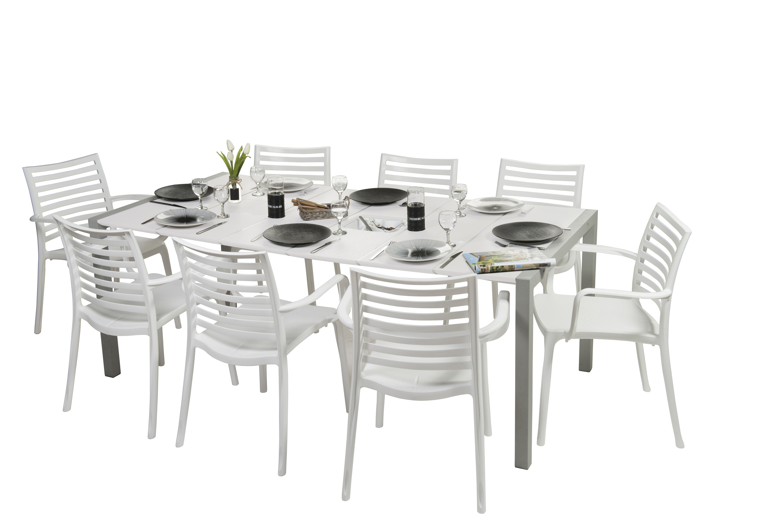 Salon de jardin dînatoire Sunday | Grosfillex