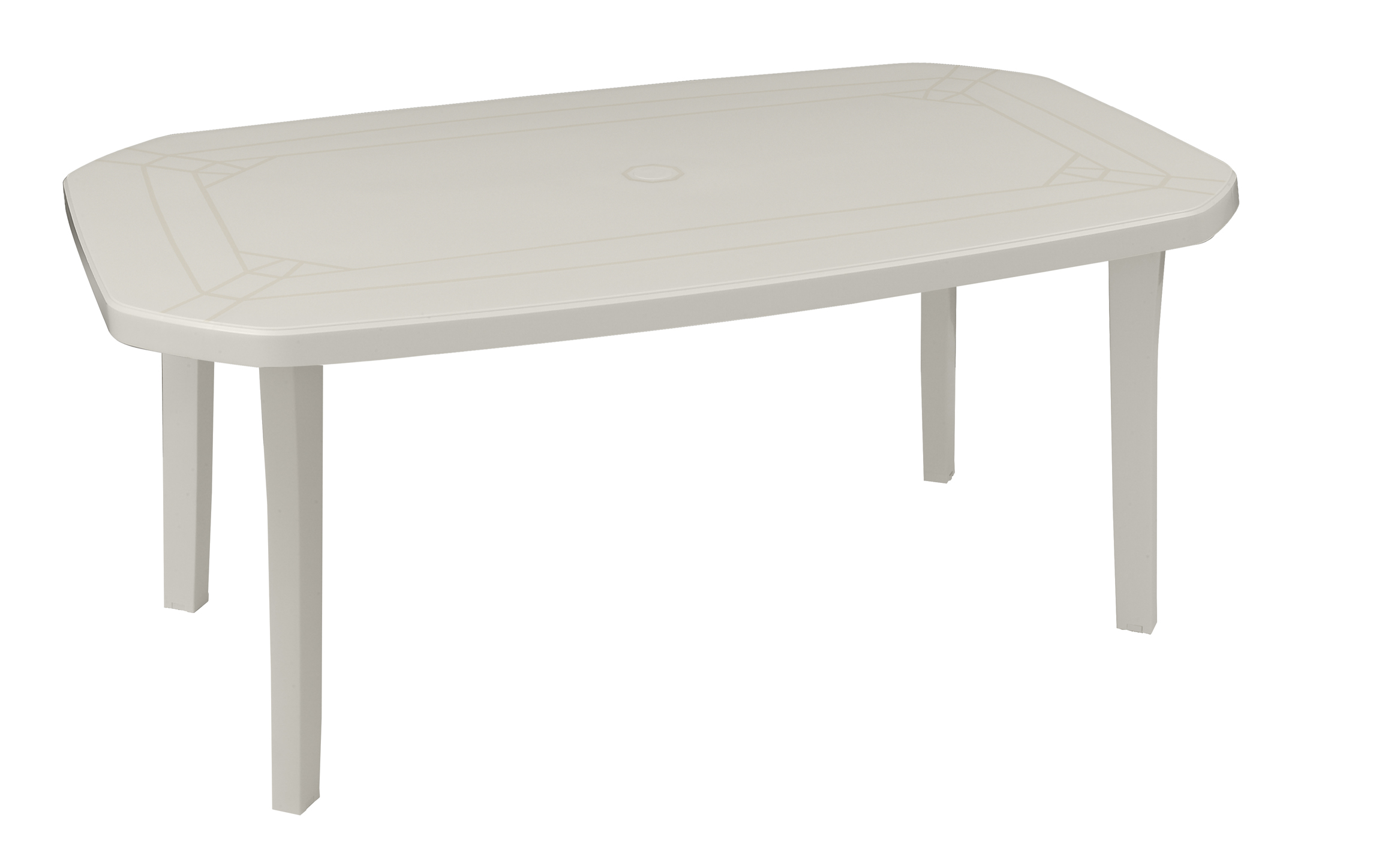 Table De Jardin Miami 165 220 Cm Grosfillex