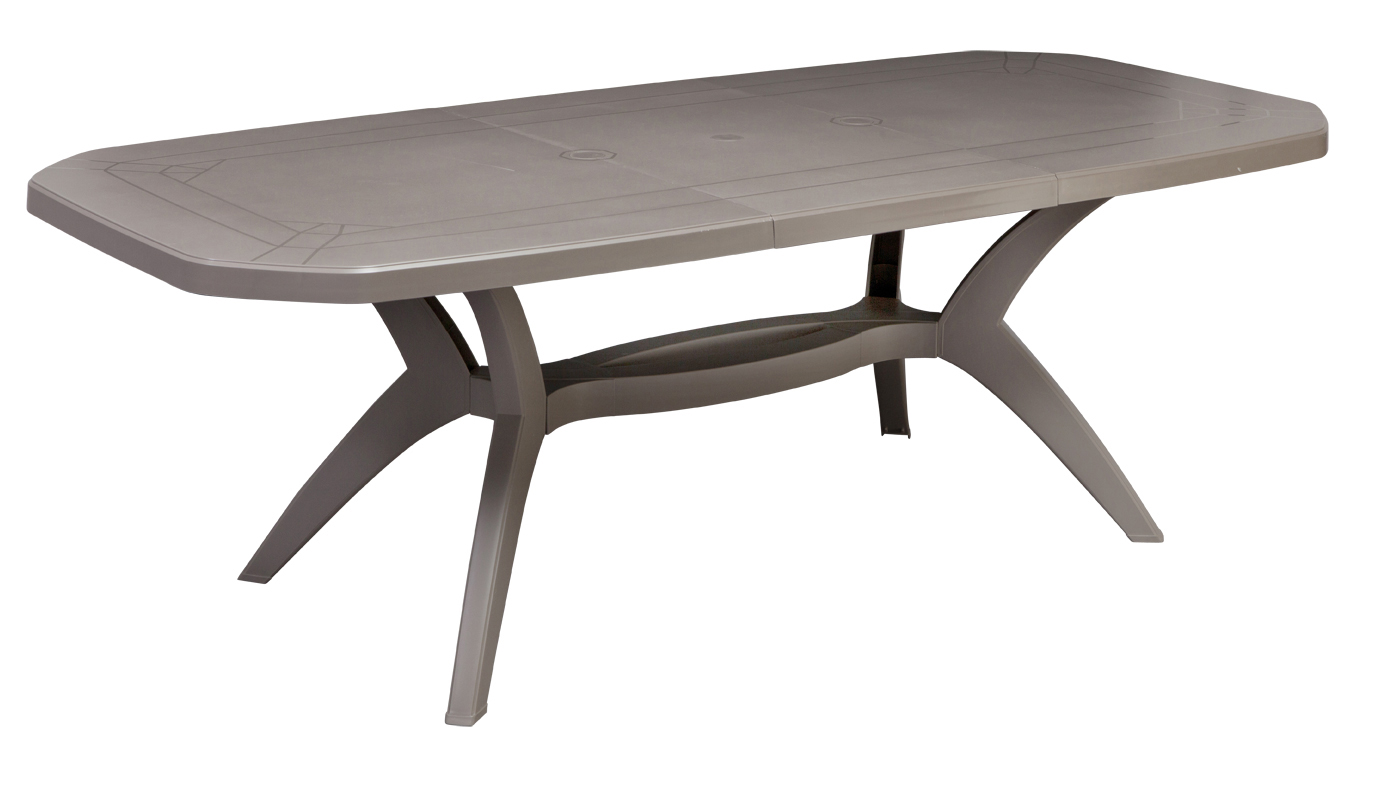 Tables de jardin Ibiza 165 & 220 cm | Grosfillex