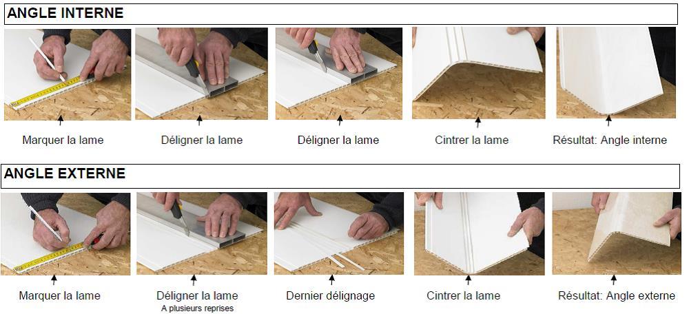 Comment Couper Du Lambris Pvc Idées Décoration Idées