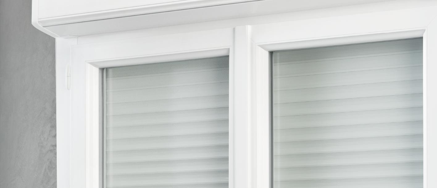 Fenêtre Porte Fenêtre Pvc Altatherm Avec Coffre Volet Intérieur