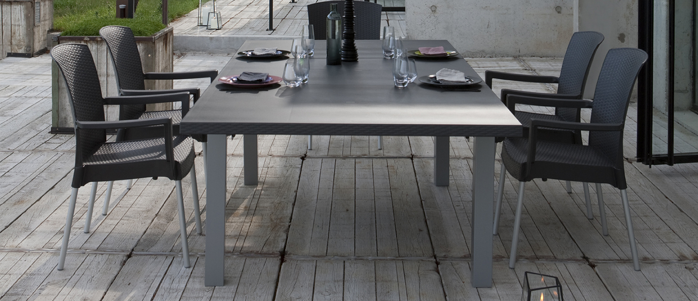Ineo garden table | Grosfillex