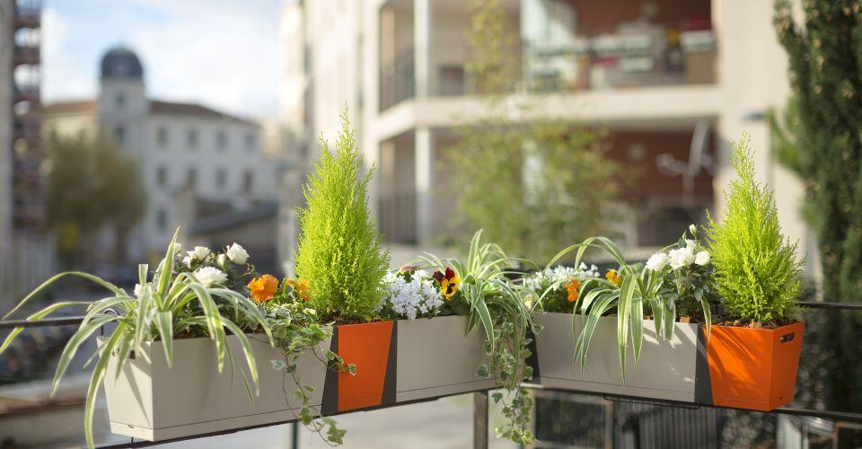 Plantenbakken Voor Vensterbank Of Balkon Grosfillex