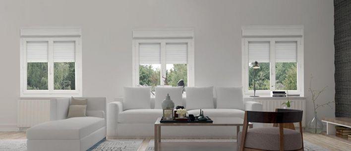 Fenêtre Porte Fenêtre Pvc Alta Duo Avec Coffre Volet Intérieur