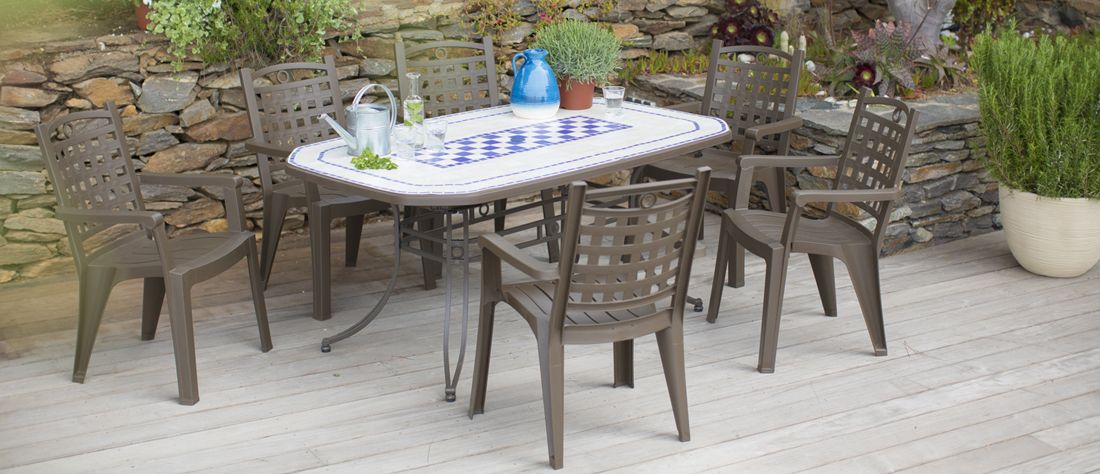 Table De Jardin Vega Grosfillex. Interesting Table Grosfillex Vega ...