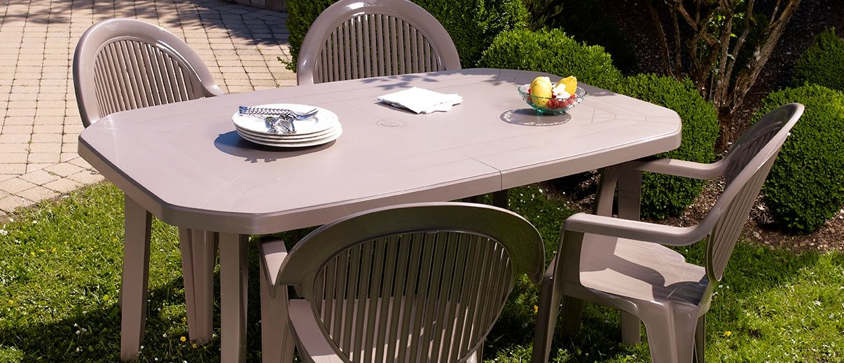 TABLE DE JARDIN MIAMI 165 & 220 CM | Grosfillex