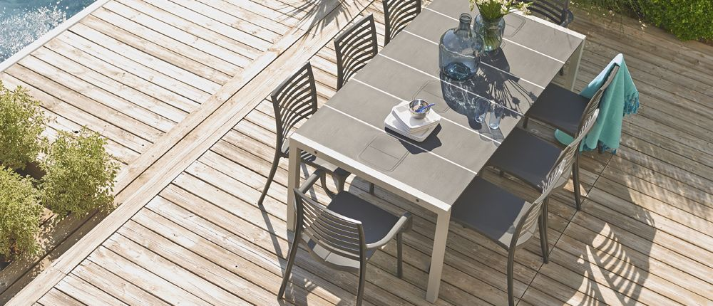 Table de jardin Sunday | Grosfillex